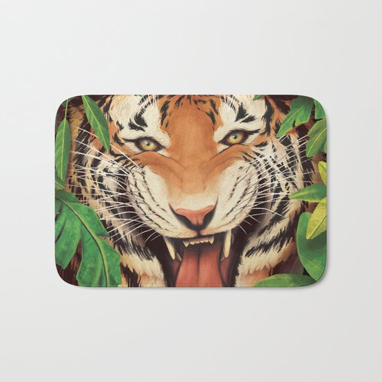 Guardian of the Jungle Bath Mat