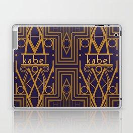 Kabel Type Portrait Purple Laptop & iPad Skin