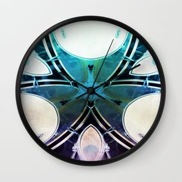 The Drummer's Triquetra Wall Clock