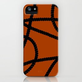 White Ropes iPhone Case