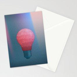 Candy Lightbulb Stationery Cards