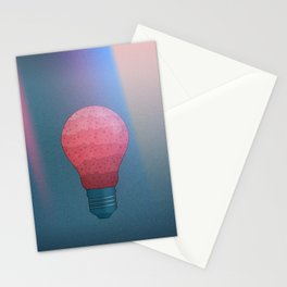 Candy Lightbulb Stationery Cards