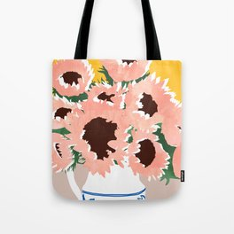 Sunshine On a Cloudy Day #painting #botanical Tote Bag