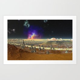 Concourse of the Stars Art Print