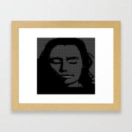 Fuzzwalk Framed Art Print