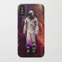 interstellar iPhone & iPod Cases featuring Interstellar by Tony Vazquez