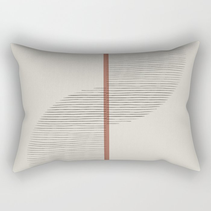 Geometric Composition II Rectangular Pillow
