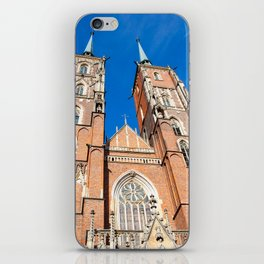 Cathedral St. John In Wroclaw iPhone Skin