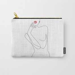 Feminine Minimalism Carry-All Pouch