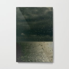 Screaming in the rain Metal Print
