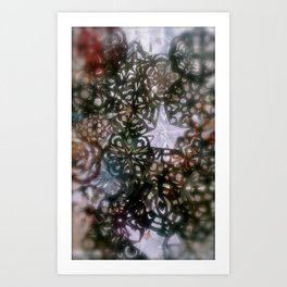 winter detail Art Print