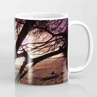 bebop Mugs featuring Early morning beach walks are filled with treasures by Donuts
