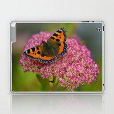 Butterfly on a Flower Laptop & iPad Skin
