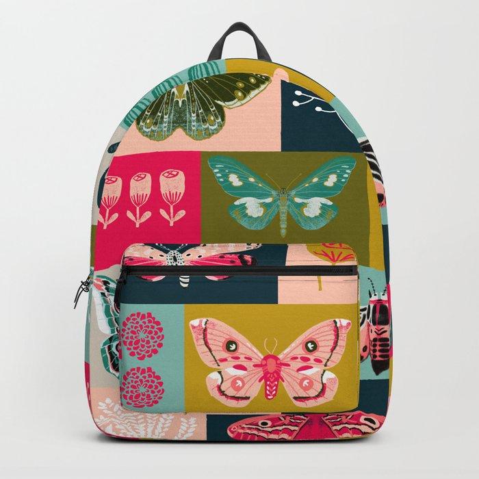 Lepidoptery tiles by Andrea Lauren  Backpack