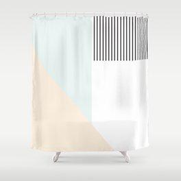 Pastelart II Shower Curtain