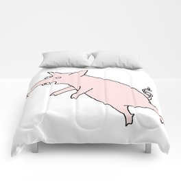 Pig Love Comforters