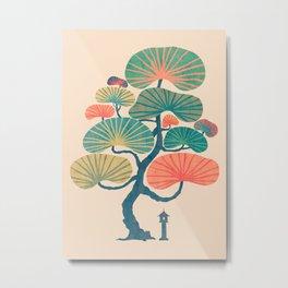 Japan garden Metal Print