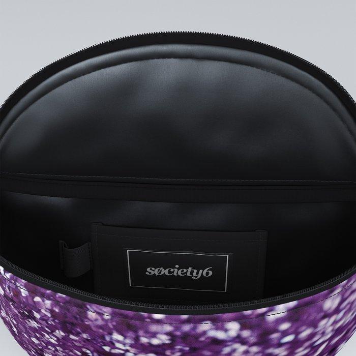Purple Glitter #1 #decor #art #society6 Fanny Pack