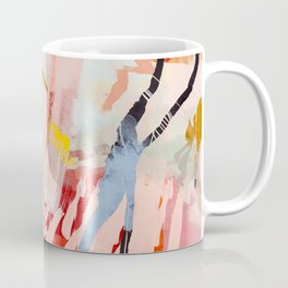 the flow landscape abstract art Coffee Mug