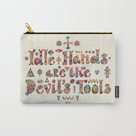 Devil's Tools Carry-All Pouch