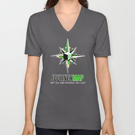 Journey Map Unisex V-Neck