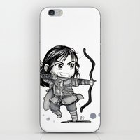 kili iPhone & iPod Skins featuring Kili Chibi by KuroCyou