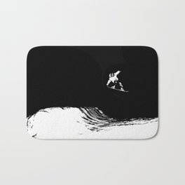 Snowboard Threshold Bath Mat