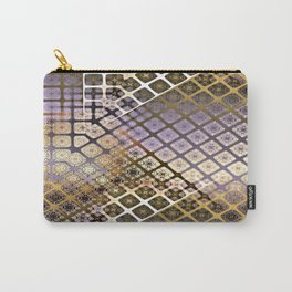Place 2B Pattern (Lush Gold) Carry-All Pouch