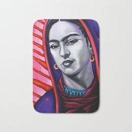 Frida Kahlo Virgin Bath Mat