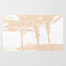 Tropical wood Rug