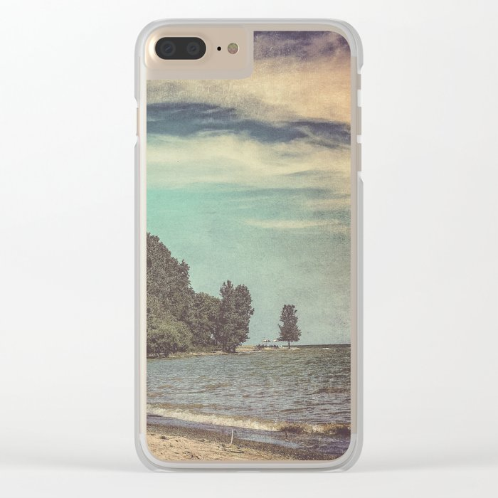 Apart From Me Clear iPhone Case