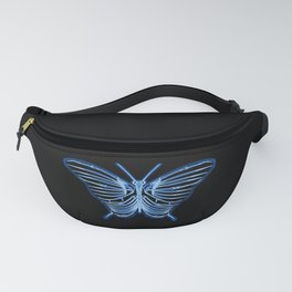 Butterfly Anatomy Fanny Pack