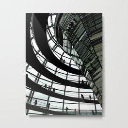 Inside the Dome Metal Print