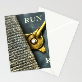 Abstract Automotive Stationery Cards
