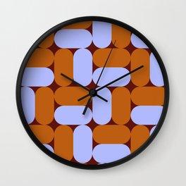 Pattern_Mix_03 Wall Clock