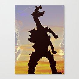 wawel dragon Cracow Canvas Print