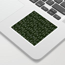 Cactus in B&W Sticker