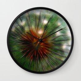 Dandelion Eye Wall Clock