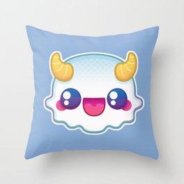 Kawaii Yeti Throw Pillow
