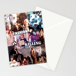 Fashion is Killing Stationery Cards