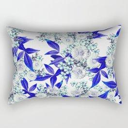 Final Party (Blue) Rectangular Pillow
