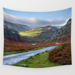 Valley of Rocks. Wall Tapestry
