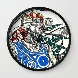 Profile Pic of Sarah Bernhardt Wall Clock