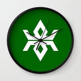 iwate region flag japan prefecture Wall Clock