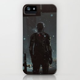 After fall iPhone Case