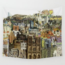 Dream City Wall Tapestry