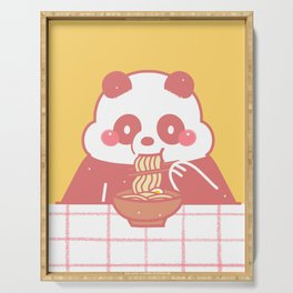 Panda Food Serving Tray