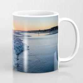 Sunset at the beach in 'Atlántida, Uruguay' Coffee Mug