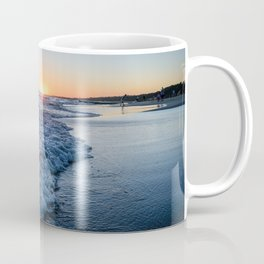 Sunset at the beach in 'Atlántida, Uruguay' Coffee Mug