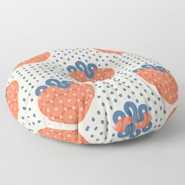 Strawberry Floor Pillow